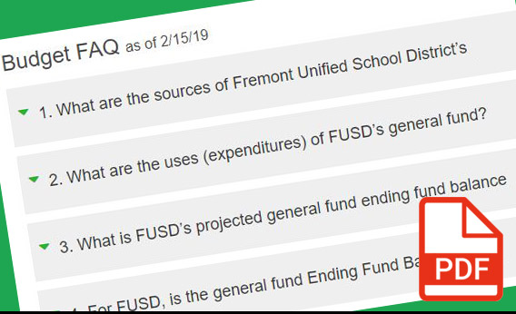 Fremont Unified School District Homepage